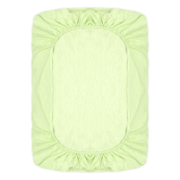 Fitted Single Sheet Set Lime Green