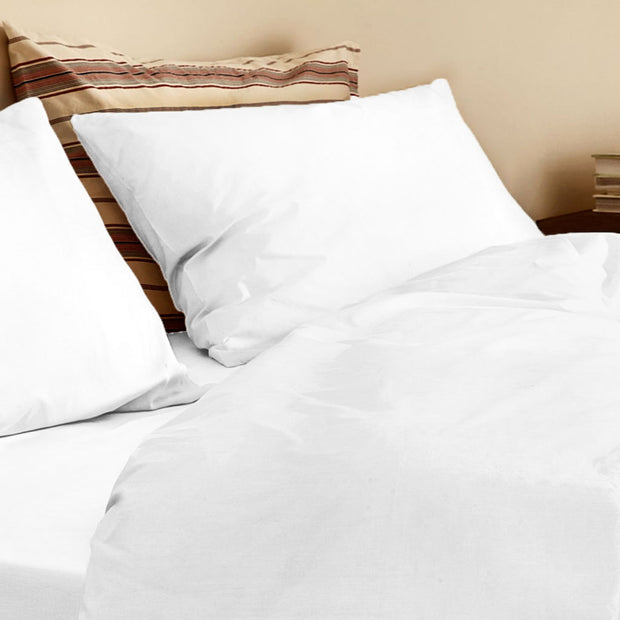 Organic Single Duvet Cover Off White