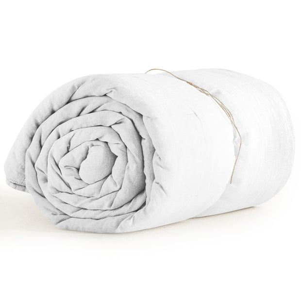 Organic Queen Duvet Cover Off White
