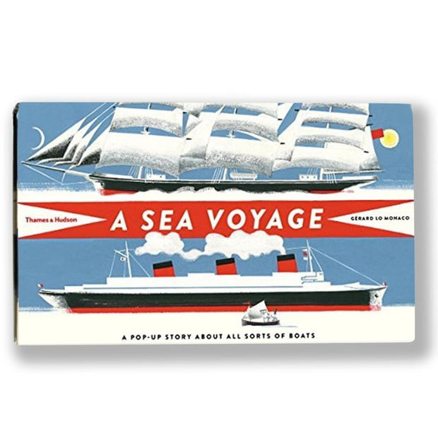 A Sea Voyage : A Pop-Up Story About All Sorts of Boats Book