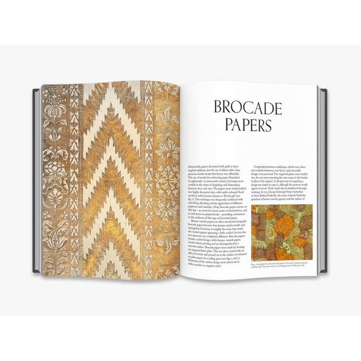 AN ANTHOLOGY OF DECORATED PAPERS: A SOURCEBOOK FOR DESIGNERS BOOK
