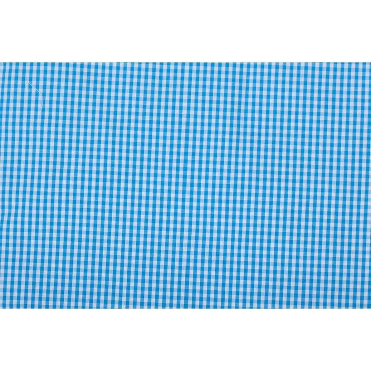 Baby Bolster Cover Set without Fillers Blue Checks
