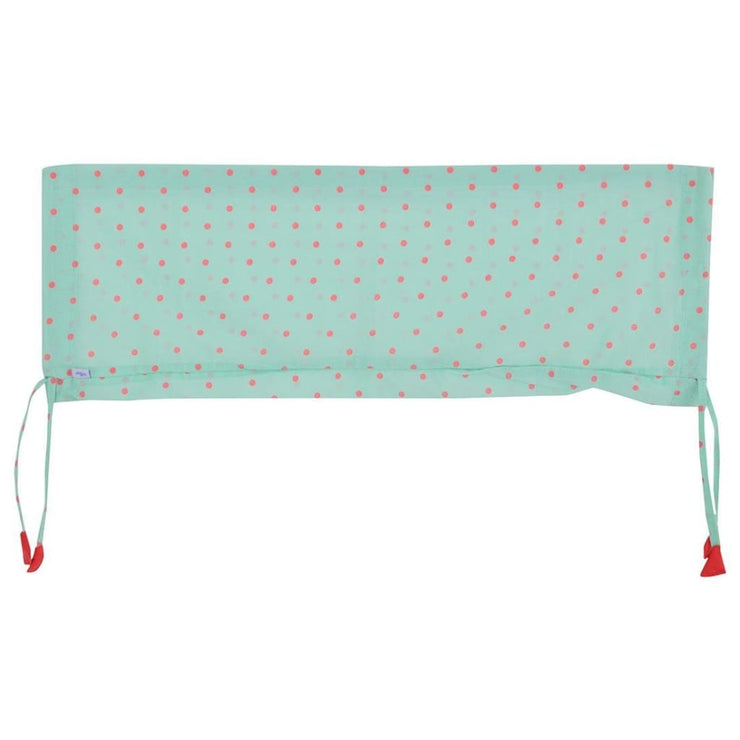 Baby Bolster Cover Set without Fillers Green and Pink Dots