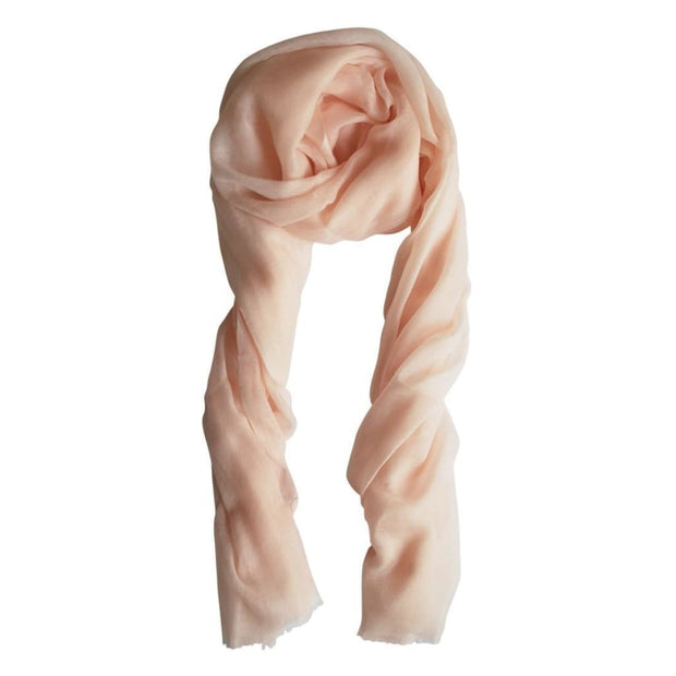 Cashmere Dogwood Pink Scarf