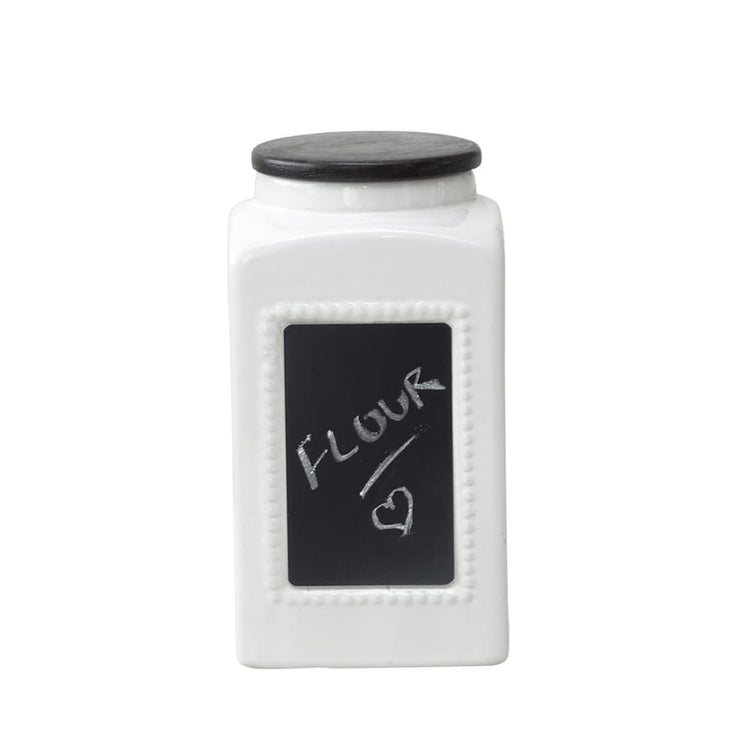 CHALK BOARD Medium Jar - Stoneware