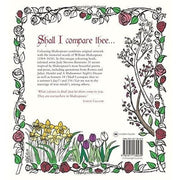 COLOURING SHAKESPEARE: OVER 30 STUNNING ILLUSTRATIONS FROM SHAKESPEARES MOST FAMOUS SONNETS AND SPEECHES