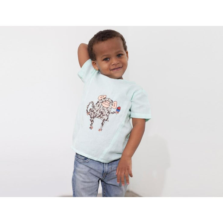Cool Monkey Shirt Linen - (U)