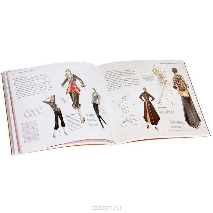 FASHION ILLUSTRATION SCHOOL: A COMPLETE HANDBOOK for Aspiring Designers and Illustrators