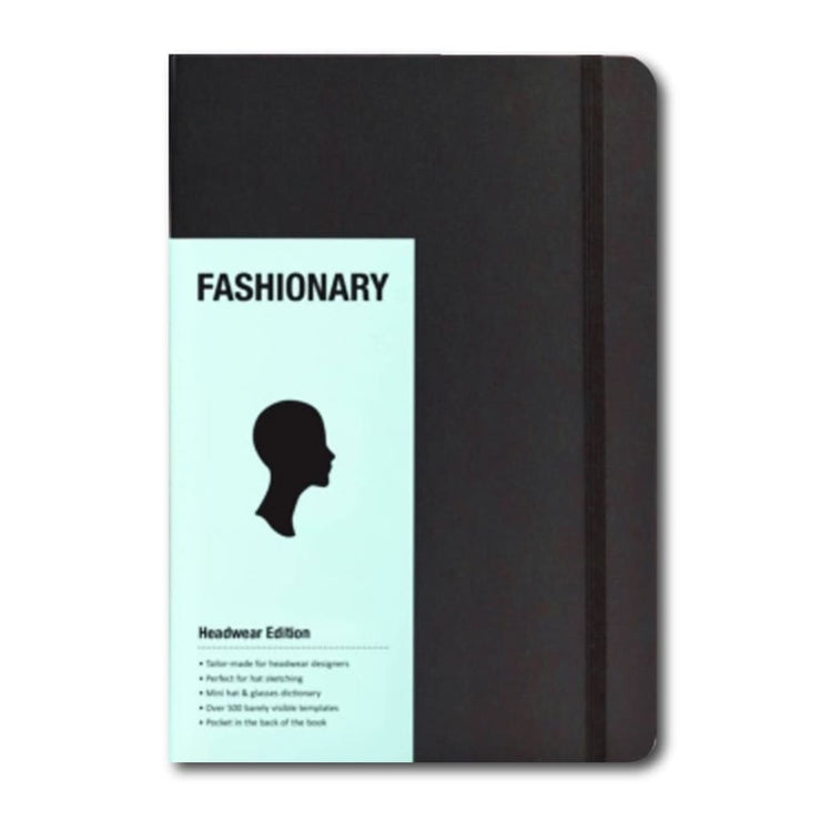 FASHIONARY HEADWEAR SKETCHBOOK A5