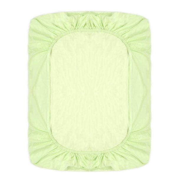 Fitted Crib Sheet Lime Green