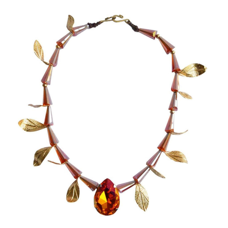 Gulmohar Autumn necklace