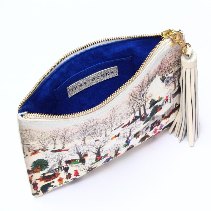 Lavery Mini Clutch - WINTER
