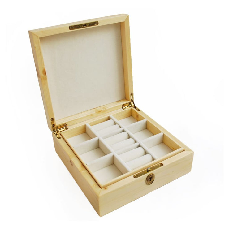 Leaf Wooden Jewellery Box - JEWELLERY BOX