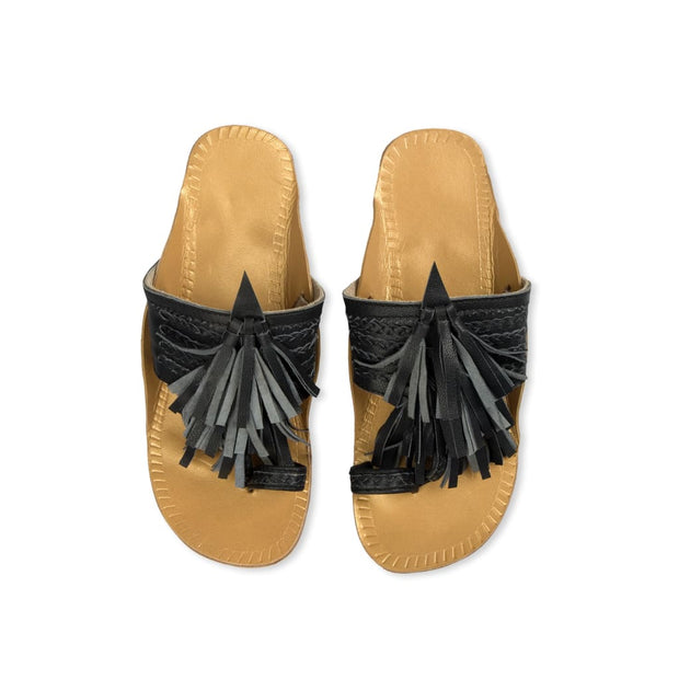 LEELA SLIPPERS NAVY