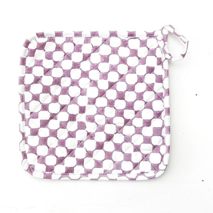 MARNIE PLUM POT HOLDER
