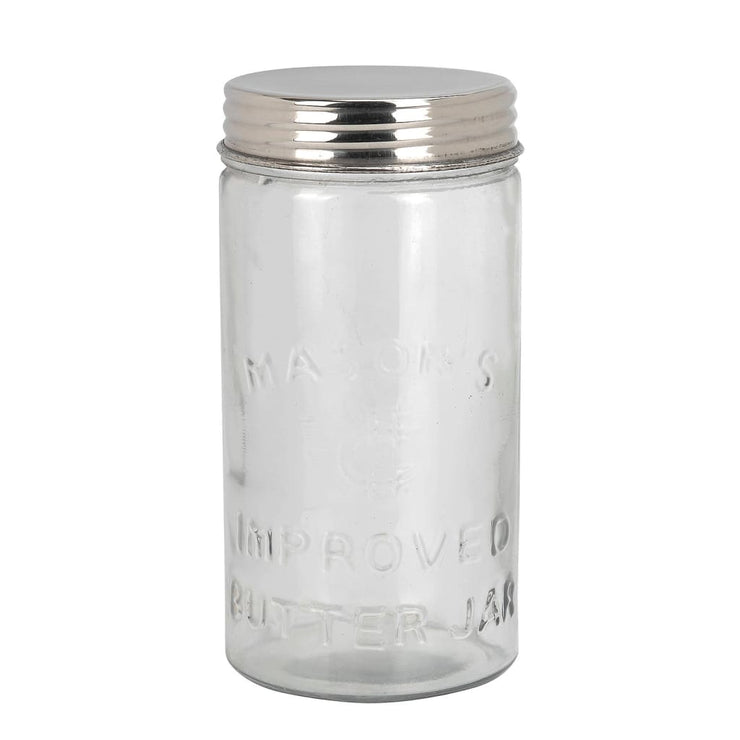 MASON BUTTER JAR LARGE