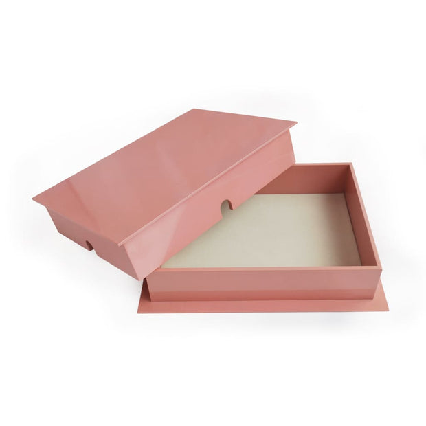 Medium Pink Trinket Box - TRINKET BOX