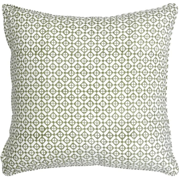 MYRAH GREEN CUSHION COVER
