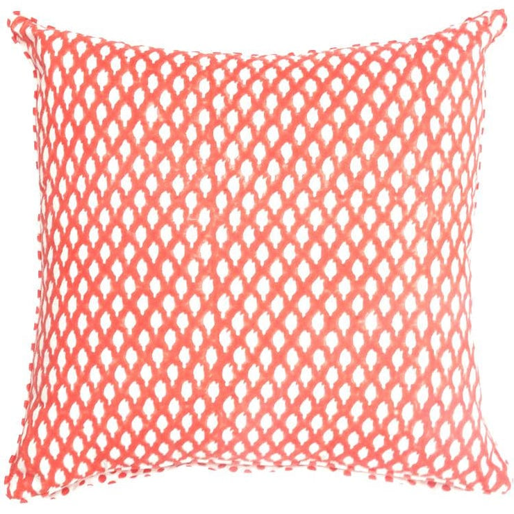 MYRAH RED CUSHION COVER