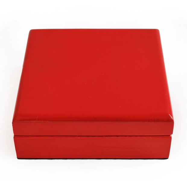 Red Glossy Coin Box (4 coins) - COIN BOX