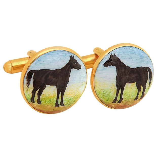 SIGNATURE BLACK BEAUTY CUFFLINKS