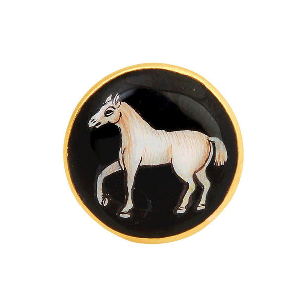 SIGNATURE CONSTABLES HORSE CUFFLINKS