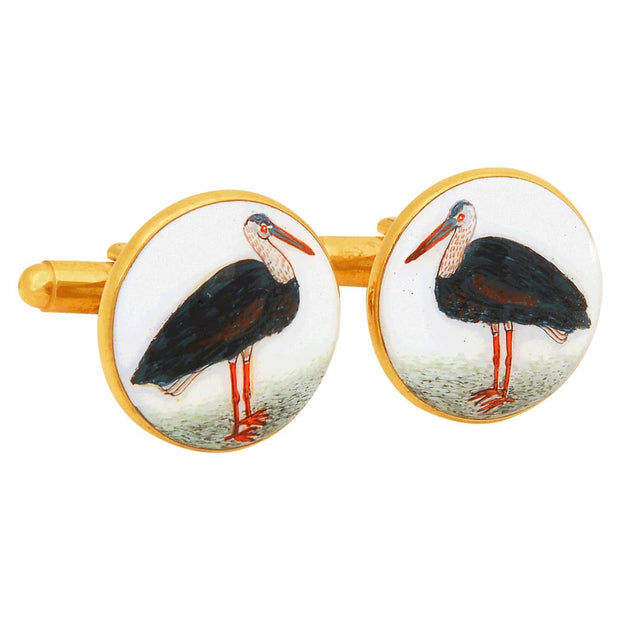 SIGNATURE PELICAN CUFFLINKS