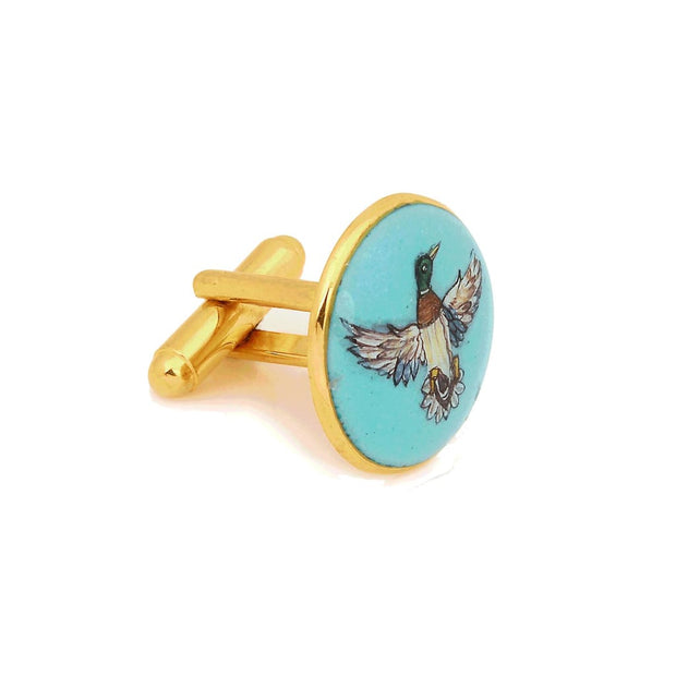 SIGNATURE ROYAL DUCK CUFFLINKS