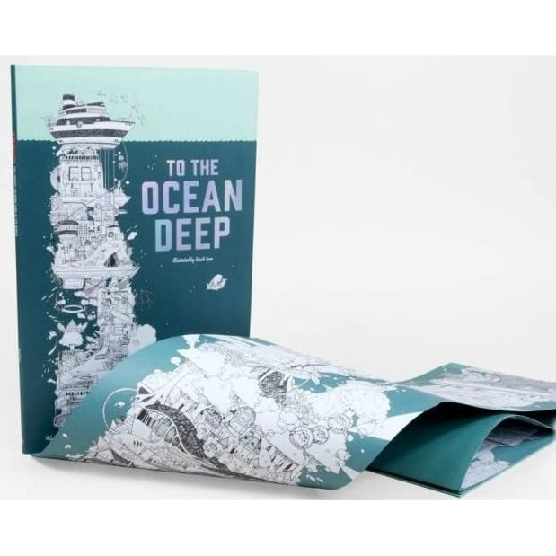 To the Ocean Deep : The Longest Colouring Book in the World
