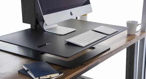 Image of E7 Electric Standing Desk Converter