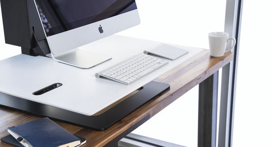 E7 Electric Standing Desk Converter