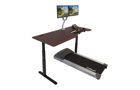 Image of Lander Treadmill Desk with Steady Type