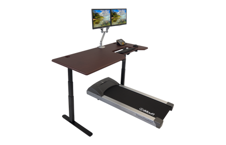 Lander Treadmill Desk with Steady Type