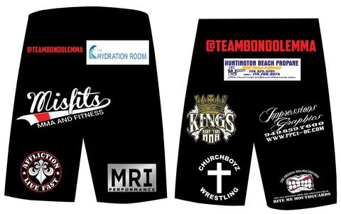 Sublimate your sponsors on your MMA gear