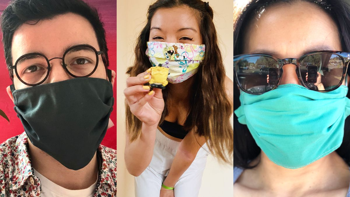 How to Make a DIY Fabric Face Mask for Coronavirus (Non-Sew)