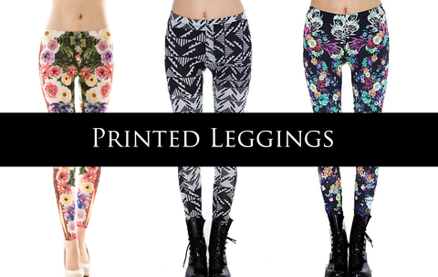 Printed Legging styles that are a must-have in your wardrobe