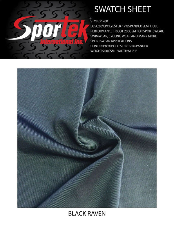 P-700 Performance Tricot Semi Dull