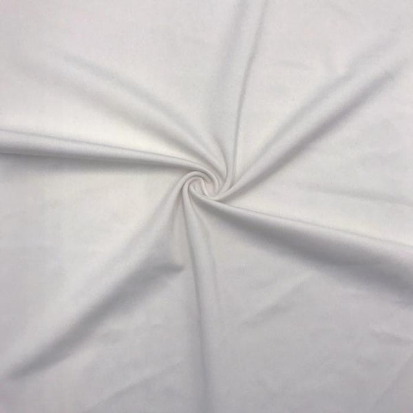 P-1150 Sportek Poly-Spandex Tricot PFP White for sublimation 220GSM