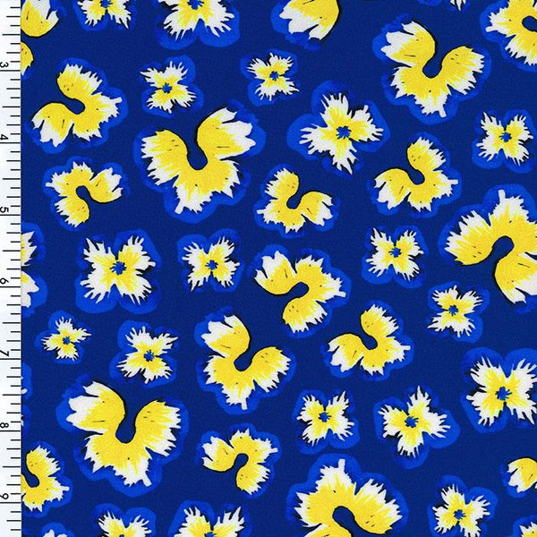 SP-NP2654 Butterfly Daisy Nylon Spandex Digitally Wet Print | swimwear Print | Yoga wear Print | Legging Print Spandex, Wet Print- Spandexbyyard - fabrics, fabric for swimwear, fabric for yogawear, swimwear fabric, yogawear fabric, fabric sublimation, sublimation fabric, los angeles, california, usa, spandex, sale, swimwear, yoga wear, lycra, shiny, neon, printed, fabric by the yard, spandex lycra, nylon lycra, lycra fabric