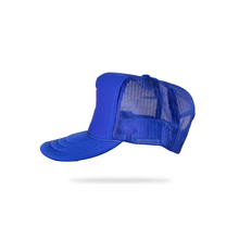 "Load image into Gallery viewer, Revive Minds ""STATEMENT HAT"" (BLUE/RED)"