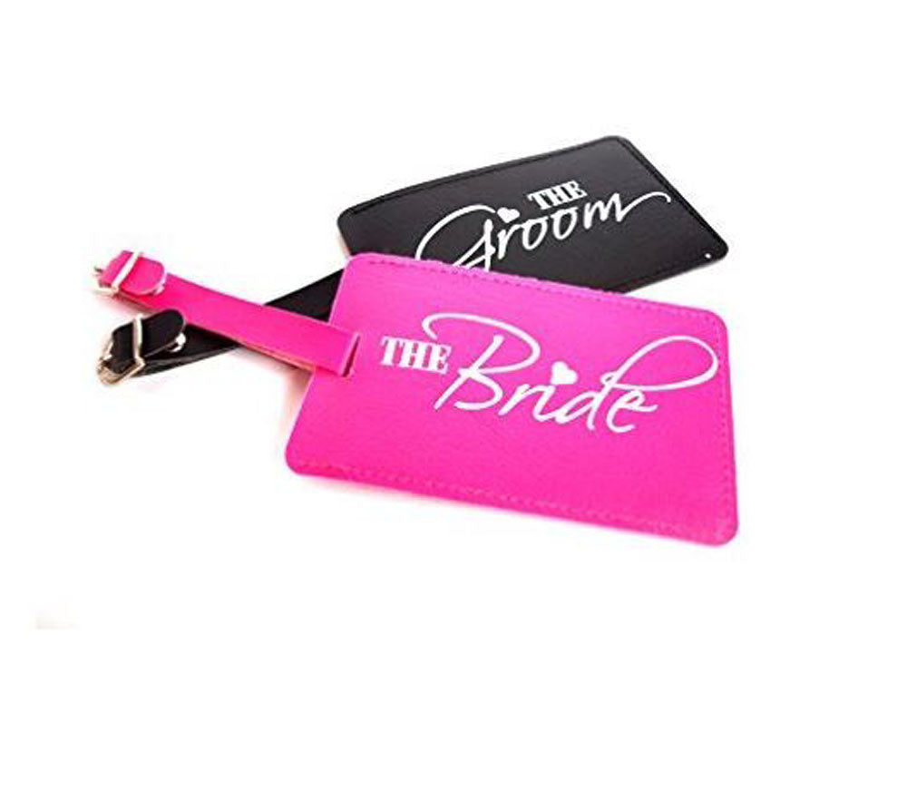 The Bride, The Groom Luggage Tags