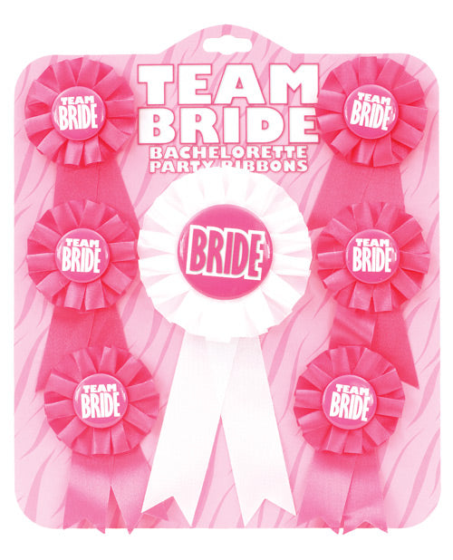 Team Bride Ribbons