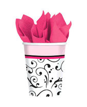Sweet Wedding 9oz Cups (18 count)