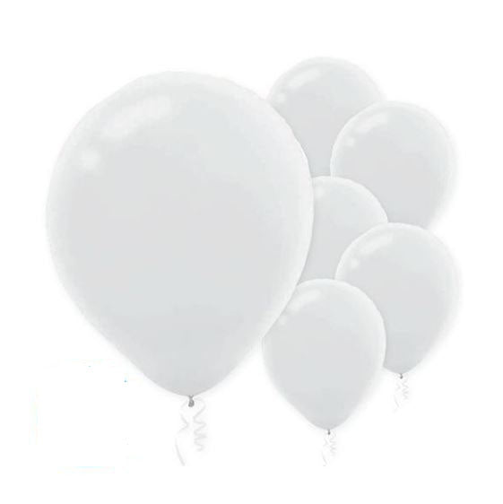 Solid Color Party Balloons (15 Count) Click for Color Choices! Flat Not Inflated.
