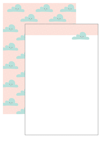 Clouds Stationery Set (6 sets)