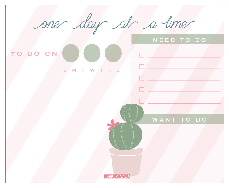 CactusFlower Daily Planner(4 units)