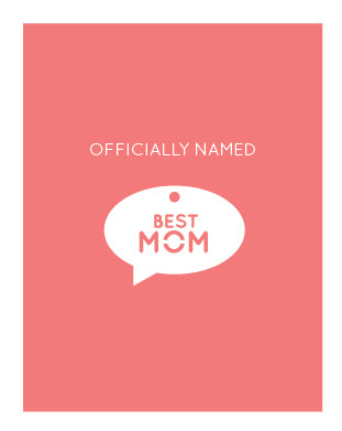 Best Mom Charm Card (6 units)