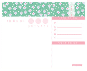 Flower Daily Planner(4 units)