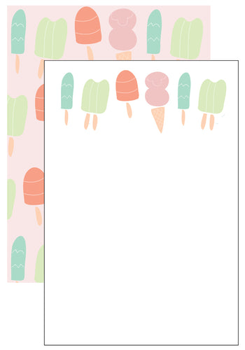 Ice Cream Stationery Set (6 sets)