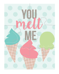 Melt Me Trio Puzzle Card (set of 6)